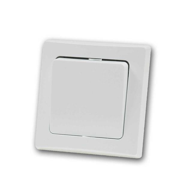 DELPHI Kreuzshalter 250V~/ 10A, UP, weiß, Schalter