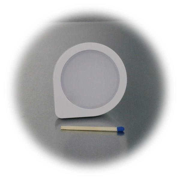 kleines unauffälliges Licht mit runder Leuchtfläche