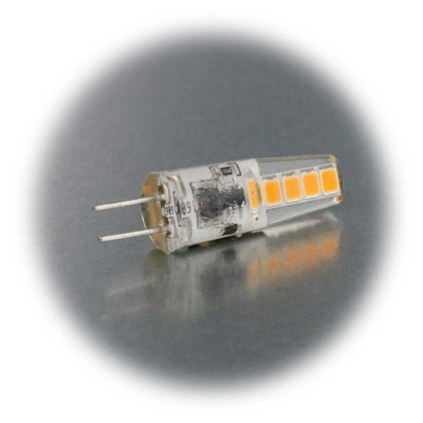 LED G4 12V Birne mit superhellen SMD LEDs als Ersatz für Halogenlampen