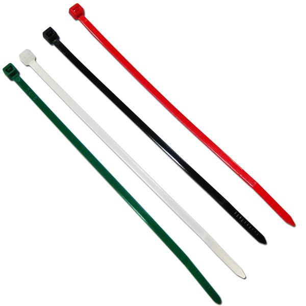 Kabelbinder farbig sortiert CT003A 150x3,6mm