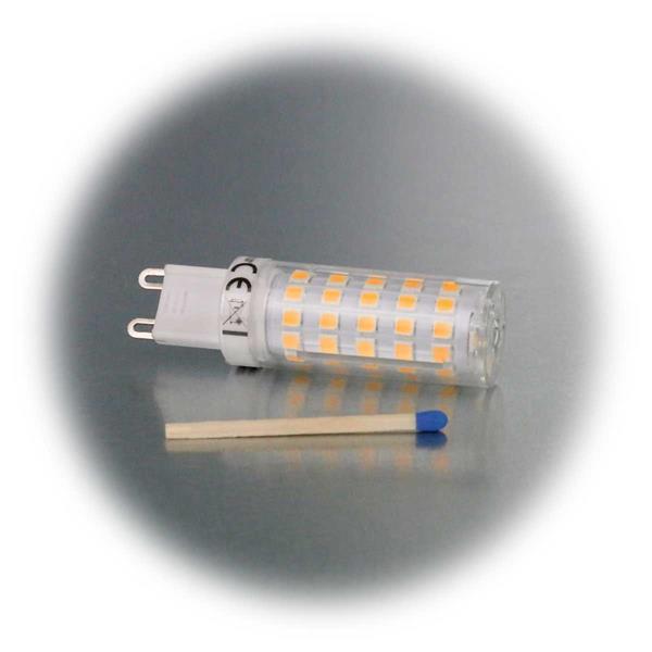 G9 LED Glühbirne mit hellen 720lm Lichtstrom und 330° Abstrahlwinkel