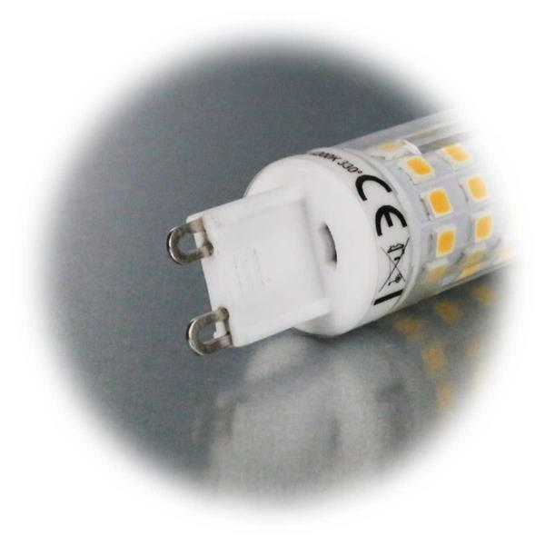 G9 LED Strahler für 230V mit dem Maß 19x65mm (øxL) ideal für z.B. Deckenleuchten