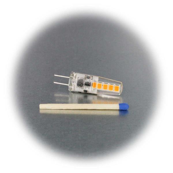 G4 LED-Leuchtmittel Birne in 2 Leuchtfarben