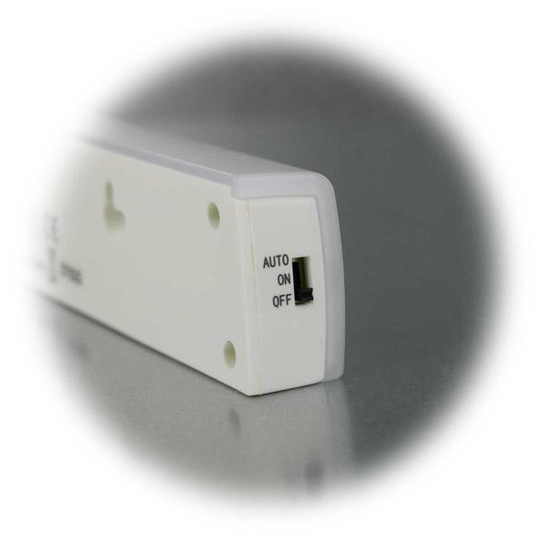 LED Lichtleiste mit 3 Betriebsarten -  EIN/AUS/Auto
