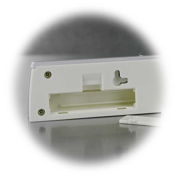 LED Möbelleuchte benötigt 3 AAA Batterien, nicht inkl.