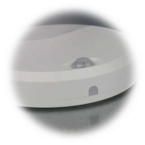 LED Notlicht mit eingebauten Dämmerungssensor und dem Bewegungsmelder
