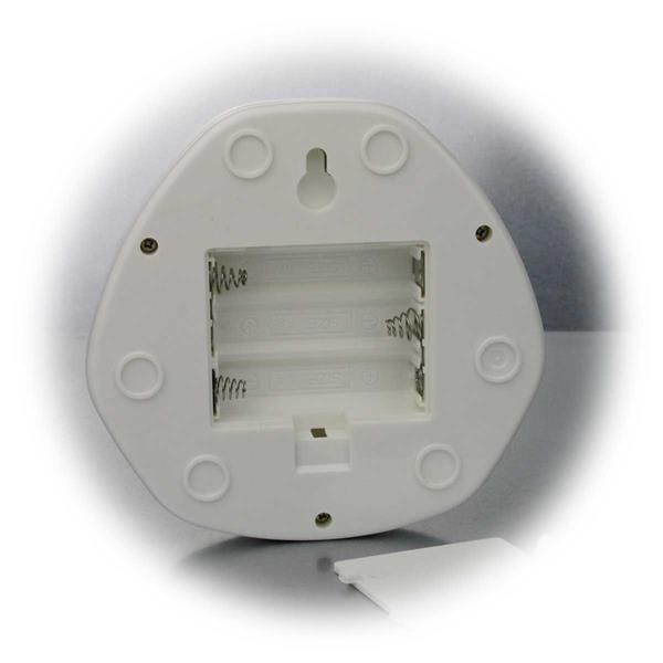 LED Batterieleuchte in kompakter Bauweise und dezenter Lichtaustrahlung
