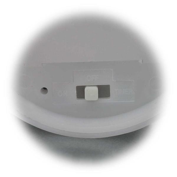 LED Dekokerze mit Timerfunktion - 8 Stunden an, 16 Stunden aus