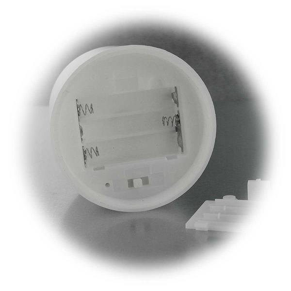 led au en kerzen wei 3er set 7 5cm mit timer. Black Bedroom Furniture Sets. Home Design Ideas
