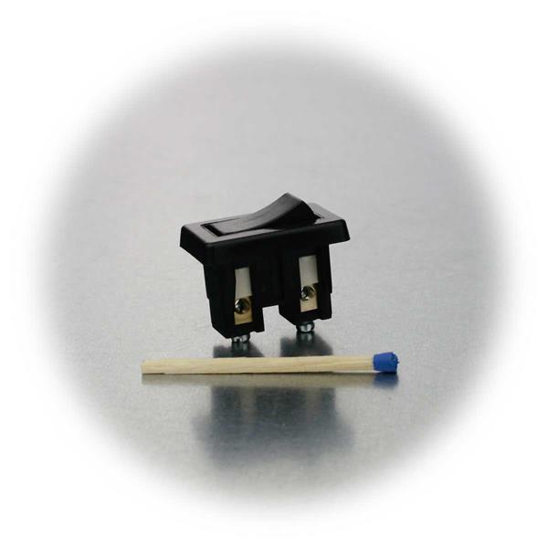 kleiner Schalter für den Einbau in verschiedenen Bereichen geeignet