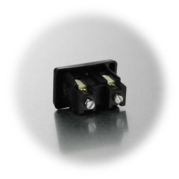 1-poliger Schalter mit Schraubanschlüssen
