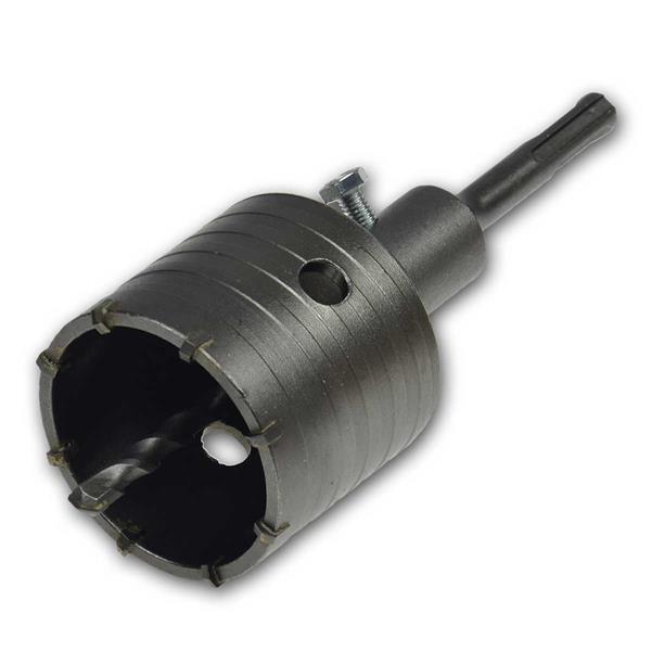 Hohlbohr-Krone 65mm Ø, SDS, 48mm tief, Bohrkrone