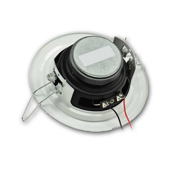 Kabelanschluss über Kabelklemme zur schnellen Montage