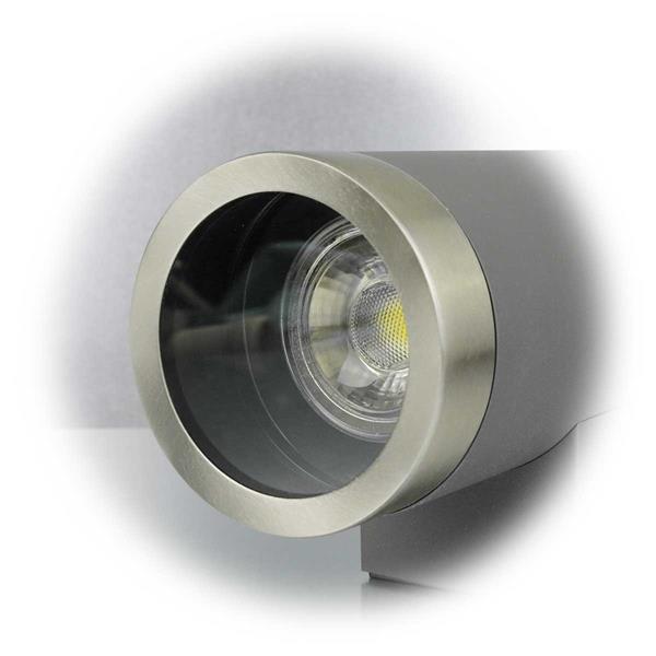 Glasscheibe schützt Leuchtmittel vor Witterungseinflüssen