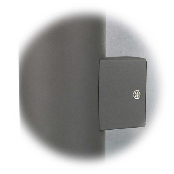 Abstand LED Außenwandleuchte zur Hauswand beträgt 30mm