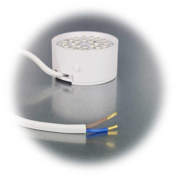LED Spot mit nur 3W Verbrauch für direkten Anschluss an 230V