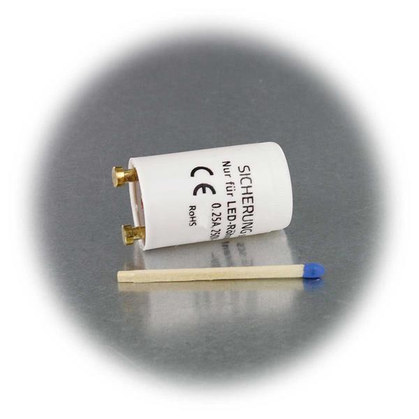 Starter für LED Röhren zum Überbrücken des Stromflusses