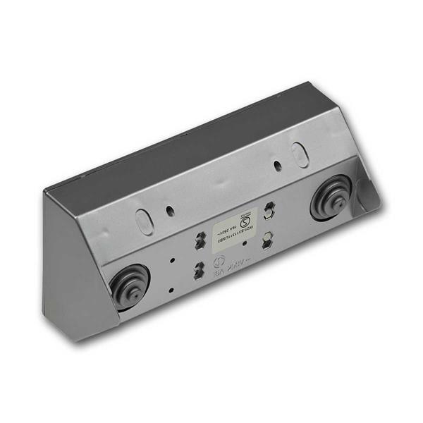 Steckdosenblock in Aufbaumontage für Betrieb an 230V/50Hz