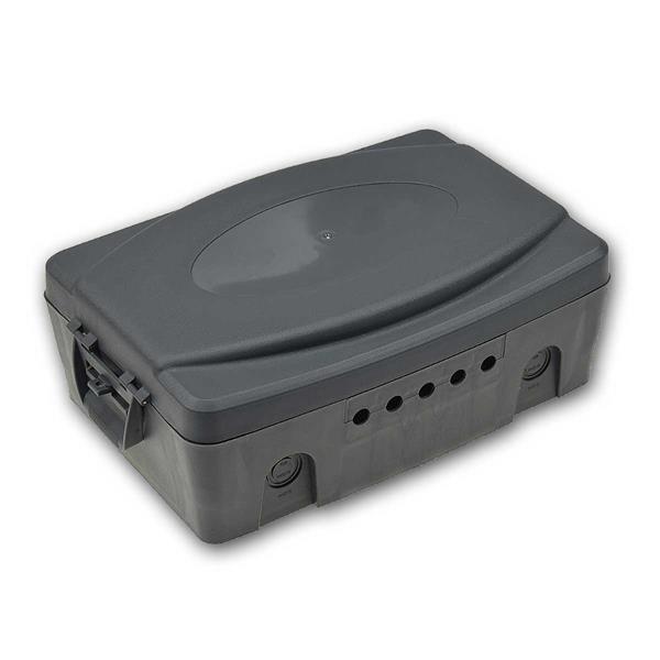 Wetterfeste Elektronikbox, IP54 verschließbar