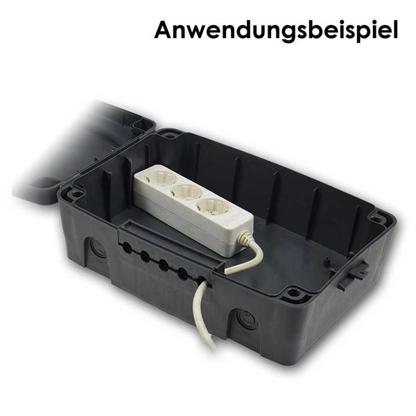 sicherer Schutz für Kabelverbindungen vpr äußeren Einflüssen