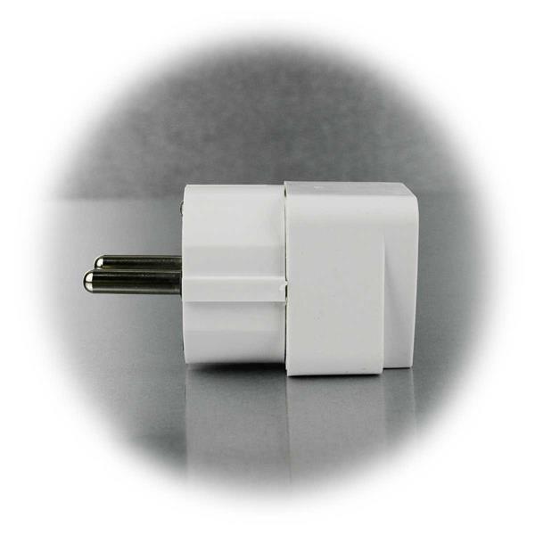 kleiner kompakter Adapter, auch ideal auf Reisen