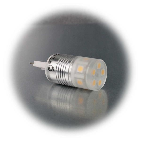 G9 Sockellampe für 230V mit dem Maß 23x62mm (øxL) ideal für passive Beleuchtung