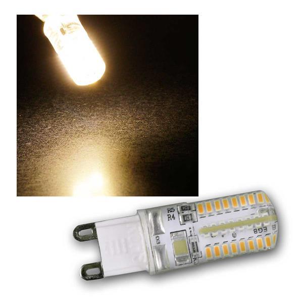G9 LED Birne, 64x SMD, warmweiß 230lm, 2,5W/230V