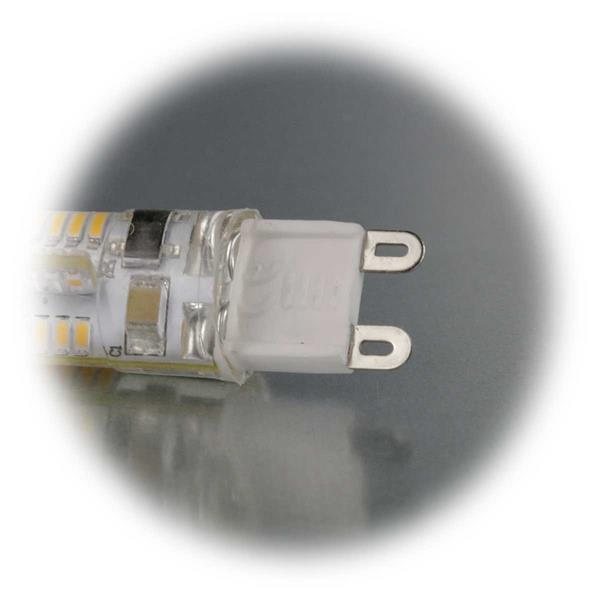 LED Energiesparleuchte 230V Sockel G9 mit nur ca. 2,5W Verbrauch