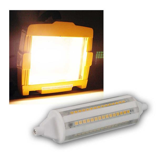 R7s Leuchtstab 118mm warmweiß 1600lm 360° 17W