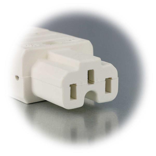 Stecker für Verbraucher mit einer Betriebstemperatur bis 155°C
