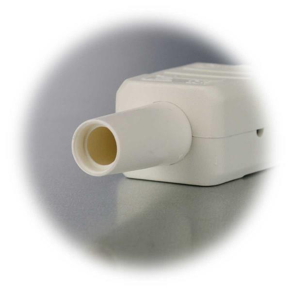 Heißgeräte Stecker für ältere wärmeerzeugende Geräte