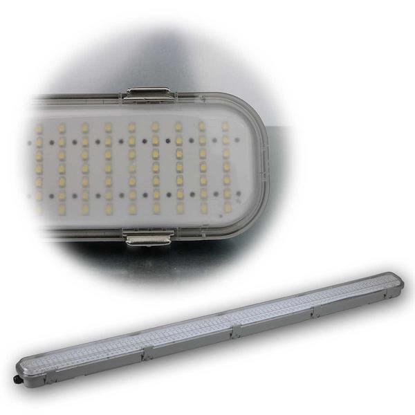 IP65 LED Feuchtraumlampe mit HF-Bewegungsmelder