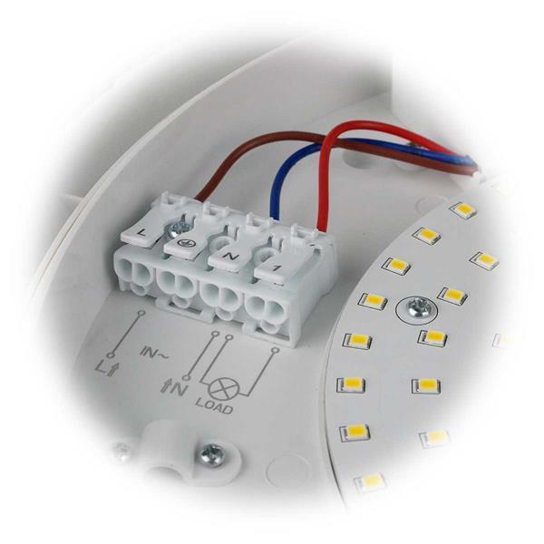 LED Deckenlampe für Garage, Hausflur, Badezimmer oder Keller