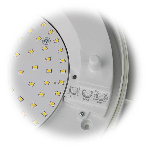 LED Feuchtraumleuchte IP44 einstellbarer Leuchtdauer