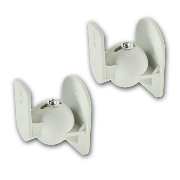 Lautsprecherhalter Paar CT-1Wh weiß dreh-/neigbar