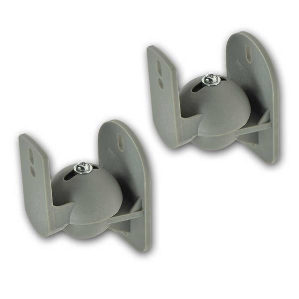 Lautsprecherhalter Paar CT-1Sg grau dreh-/neigbar