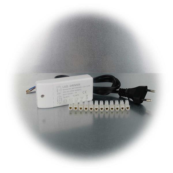 MR11 LED Strahlerset mit nur je 2,5W Verbrauch mit Zubehör