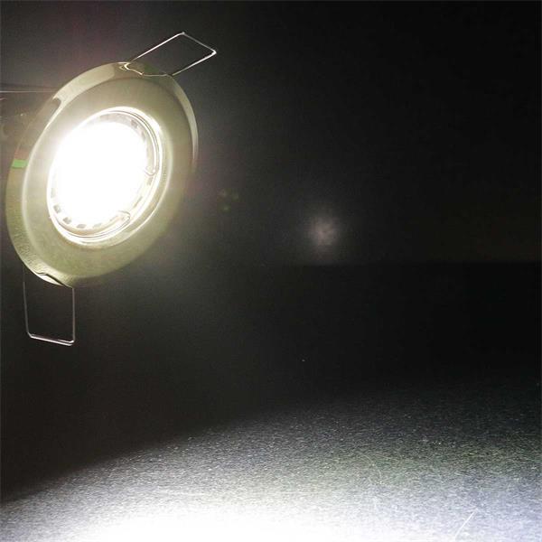 LED Einbauspot MR11 Komplettset mit Lochkreismaß Ø43mm