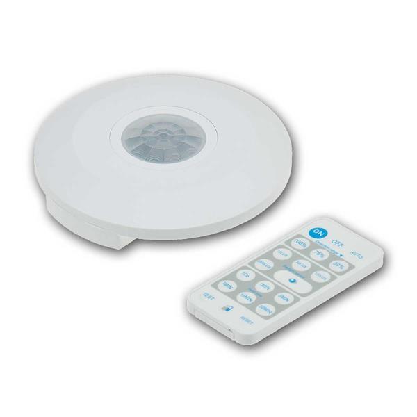 """Decken-Bewegungsmelder """"CBM-Flat IR"""" LED geeignet"""