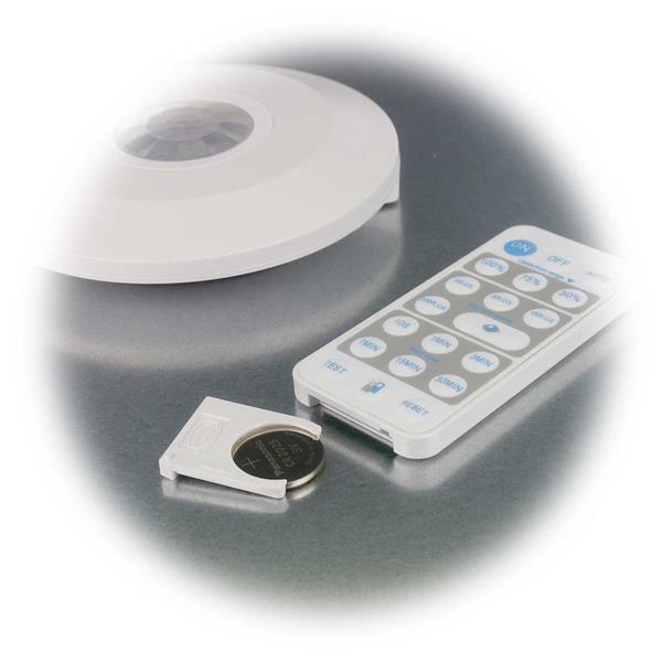 Batterie für Fernbedienung ist eine Knopfzelle CR2025