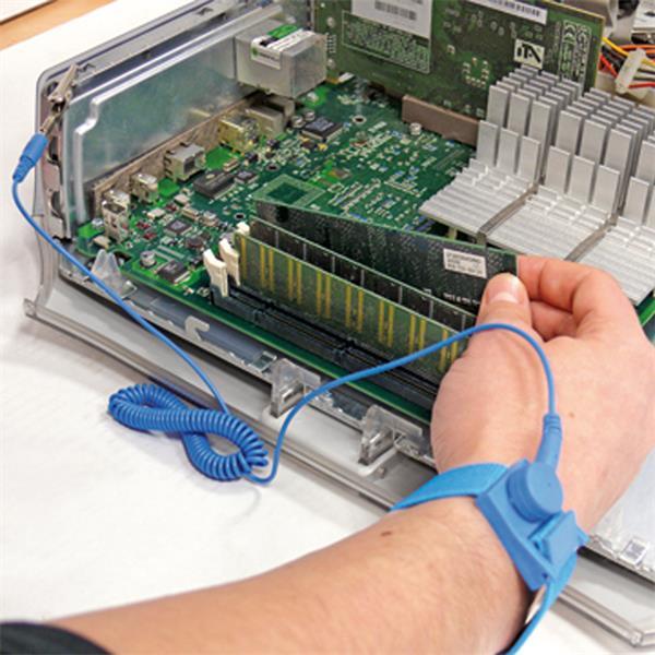 Anti-statische Handschlaufe für Arbeiten an kleinen eklektischen Gegenständen