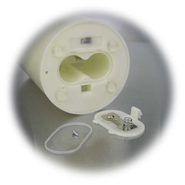 LED Outdoor Kerze für zwei Batterien vom Typ R14 UM2 Baby