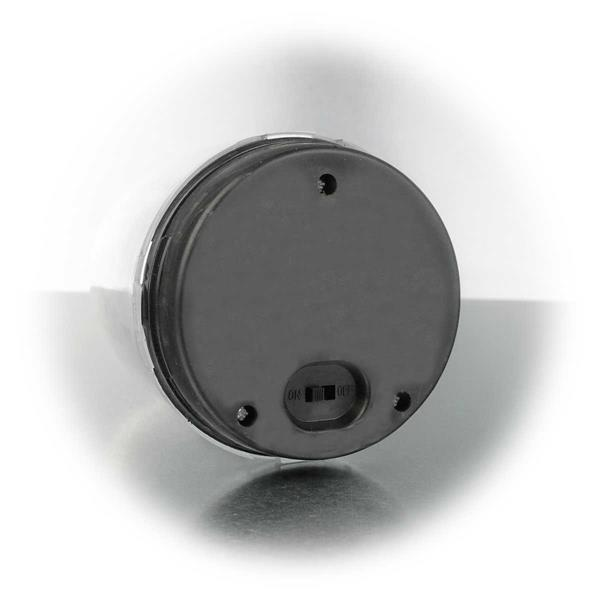 LED Dekoleuchte aus Kunststoff mit integrierten Tag- /Nachtsensor