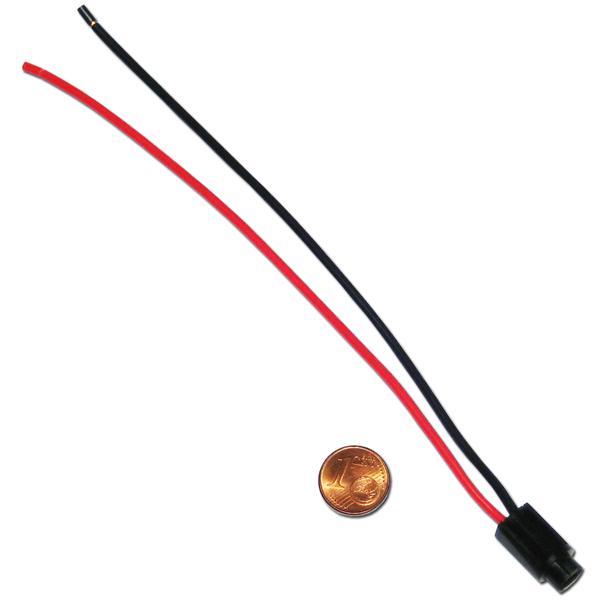 Lampenfassung T5 w1.2w Lampen mit Kabel - Fassung