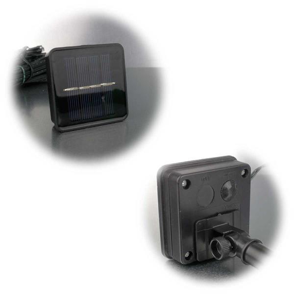 Außenlichterketten mit Batterie- oder Solarbetrieb