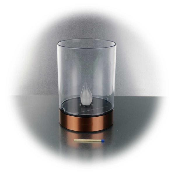 LED Dekoleuchte im stylischen Design mit einer Höhe von 13cm