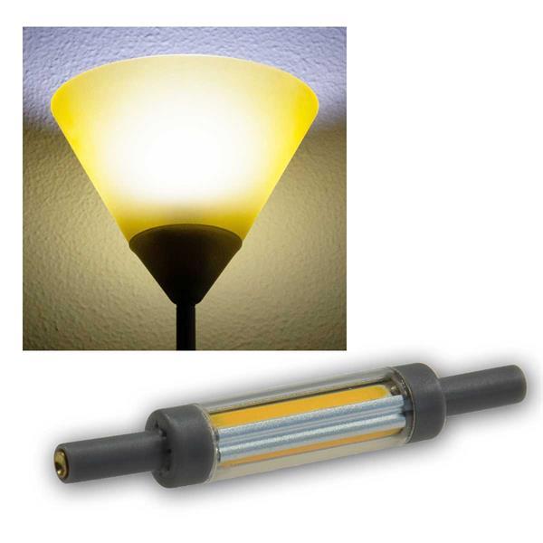 R7s Leuchtstab SLIM 78mm neutralweiß 520lm 360° 5W