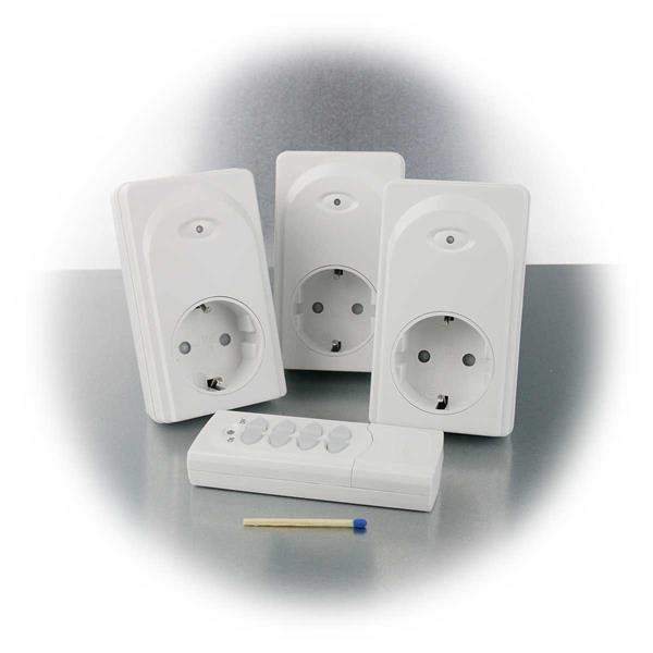 Schalten von angeschlossene Geräten bequem per Fernbedienung