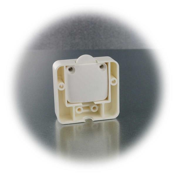 Zusatzgehäuse zum Schutz vor mechanischen Einflüssen des Tasters