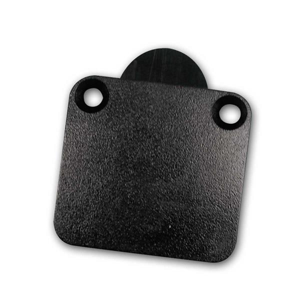 Türkontaktschalter Öffner schwarz 230V/2A Taster
